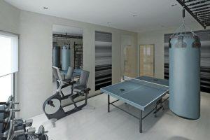 Palestra in casa: come costruirla da solo con panche e armadi da ufficio con battenti